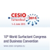 CESIO 2015, 10th World Surfactant Congress and Business Convention